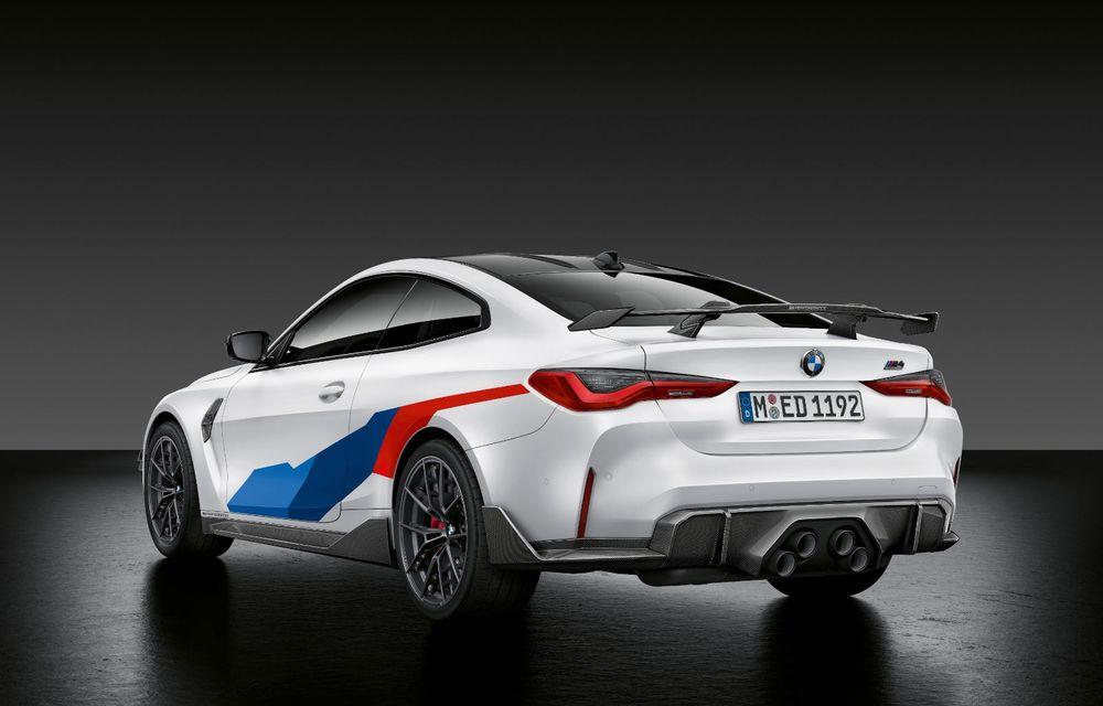 Accesorii M Performance pentru noile BMW M3 și M4 Coupe: elemente de caroserie din fibră de carbon și noutăți pentru interior - Poza 19