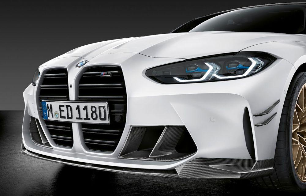 Accesorii M Performance pentru noile BMW M3 și M4 Coupe: elemente de caroserie din fibră de carbon și noutăți pentru interior - Poza 12
