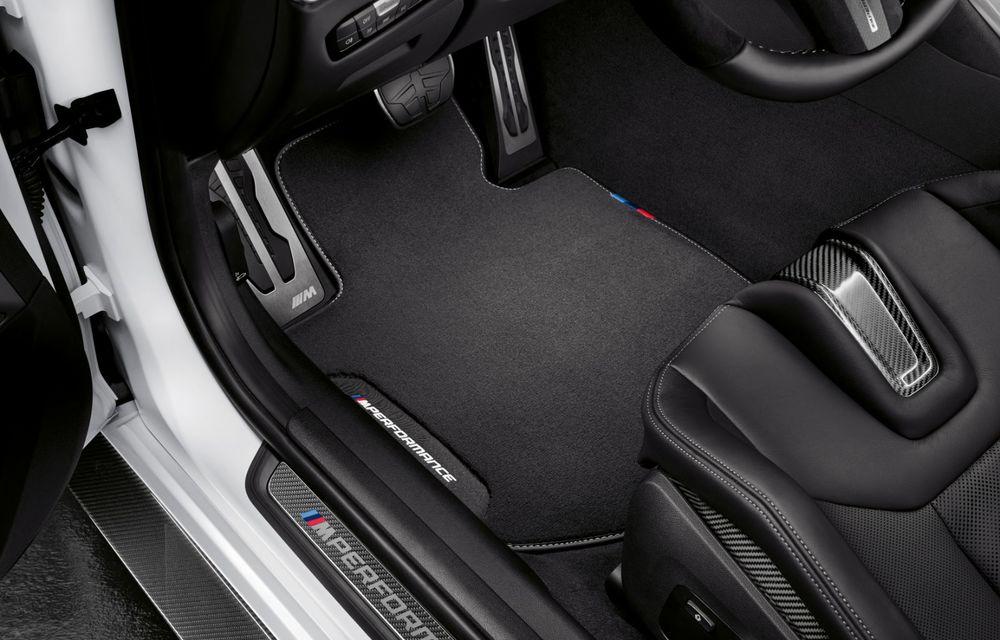 Accesorii M Performance pentru noile BMW M3 și M4 Coupe: elemente de caroserie din fibră de carbon și noutăți pentru interior - Poza 27