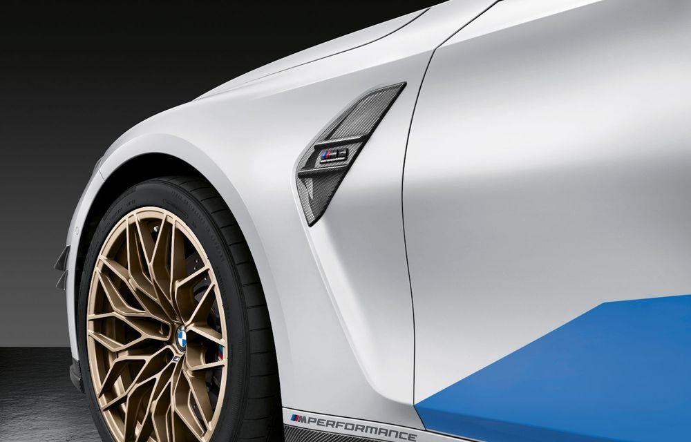 Accesorii M Performance pentru noile BMW M3 și M4 Coupe: elemente de caroserie din fibră de carbon și noutăți pentru interior - Poza 4