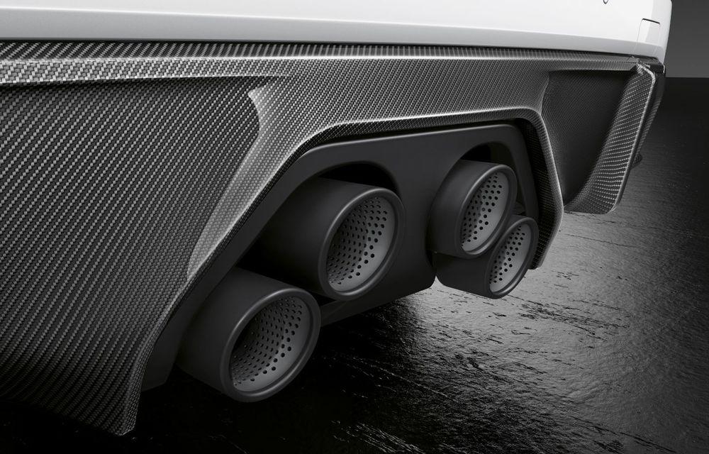 Accesorii M Performance pentru noile BMW M3 și M4 Coupe: elemente de caroserie din fibră de carbon și noutăți pentru interior - Poza 7