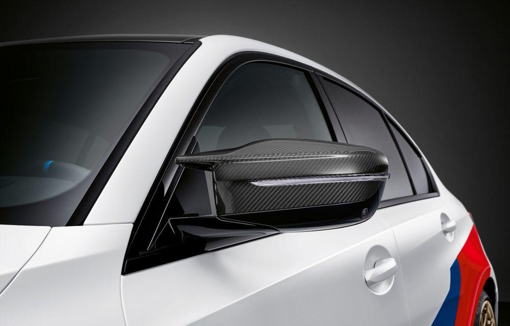 Accesorii M Performance pentru noile BMW M3 și M4 Coupe: elemente de caroserie din fibră de carbon și noutăți pentru interior - Poza 24