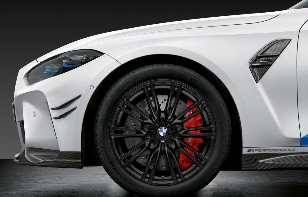 Accesorii M Performance pentru noile BMW M3 și M4 Coupe: elemente de caroserie din fibră de carbon și noutăți pentru interior - Poza 26