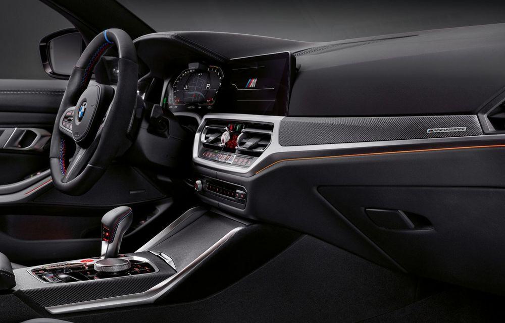 Accesorii M Performance pentru noile BMW M3 și M4 Coupe: elemente de caroserie din fibră de carbon și noutăți pentru interior - Poza 28