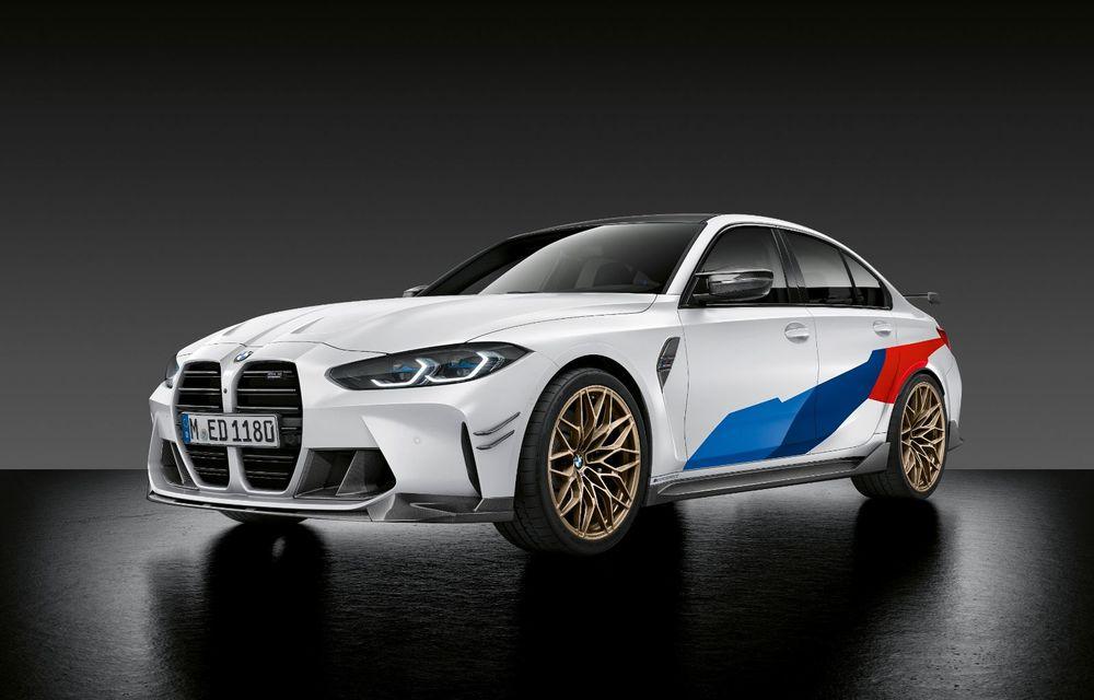 Accesorii M Performance pentru noile BMW M3 și M4 Coupe: elemente de caroserie din fibră de carbon și noutăți pentru interior - Poza 2