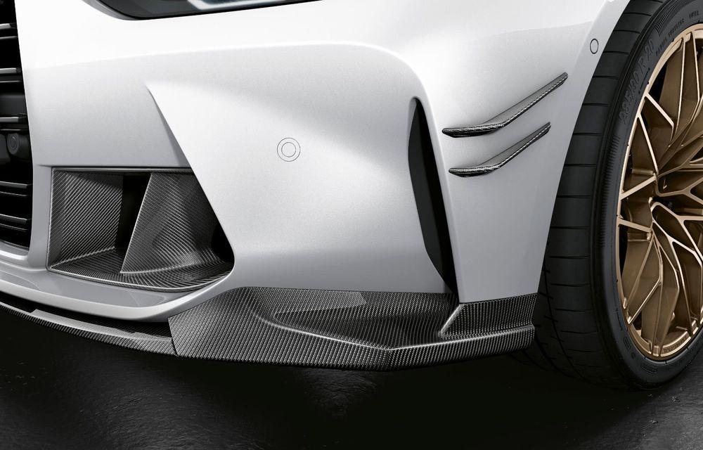 Accesorii M Performance pentru noile BMW M3 și M4 Coupe: elemente de caroserie din fibră de carbon și noutăți pentru interior - Poza 15