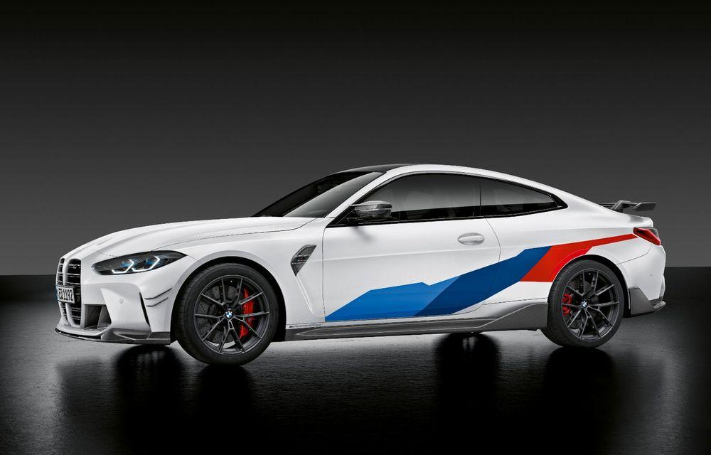 Accesorii M Performance pentru noile BMW M3 și M4 Coupe: elemente de caroserie din fibră de carbon și noutăți pentru interior - Poza 20