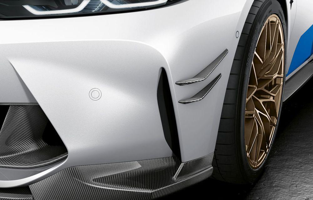 Accesorii M Performance pentru noile BMW M3 și M4 Coupe: elemente de caroserie din fibră de carbon și noutăți pentru interior - Poza 11