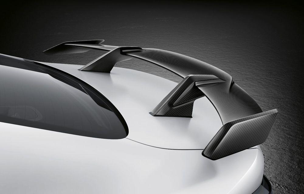 Accesorii M Performance pentru noile BMW M3 și M4 Coupe: elemente de caroserie din fibră de carbon și noutăți pentru interior - Poza 23