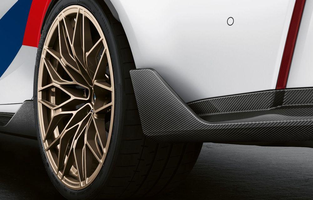 Accesorii M Performance pentru noile BMW M3 și M4 Coupe: elemente de caroserie din fibră de carbon și noutăți pentru interior - Poza 14