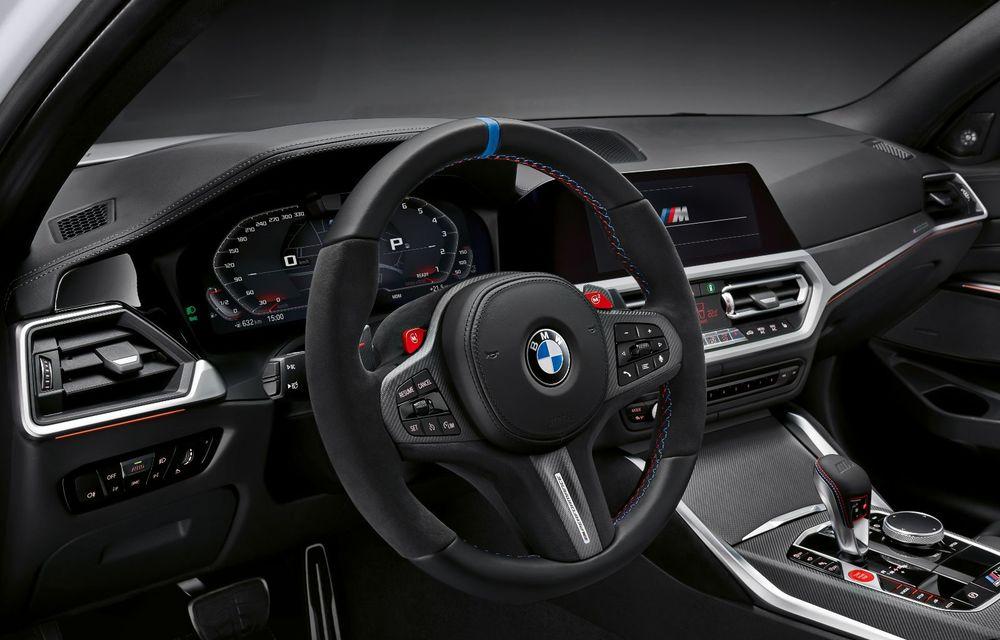 Accesorii M Performance pentru noile BMW M3 și M4 Coupe: elemente de caroserie din fibră de carbon și noutăți pentru interior - Poza 29