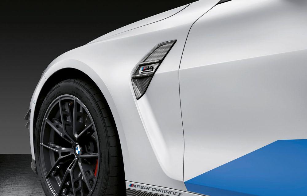 Accesorii M Performance pentru noile BMW M3 și M4 Coupe: elemente de caroserie din fibră de carbon și noutăți pentru interior - Poza 21
