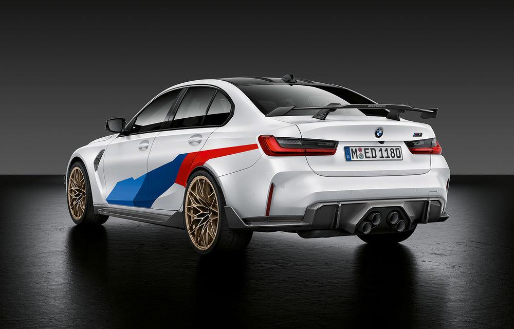 Accesorii M Performance pentru noile BMW M3 și M4 Coupe: elemente de caroserie din fibră de carbon și noutăți pentru interior - Poza 1