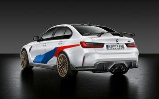 Accesorii M Performance pentru noile BMW M3 și M4 Coupe: elemente de caroserie din fibră de carbon și noutăți pentru interior