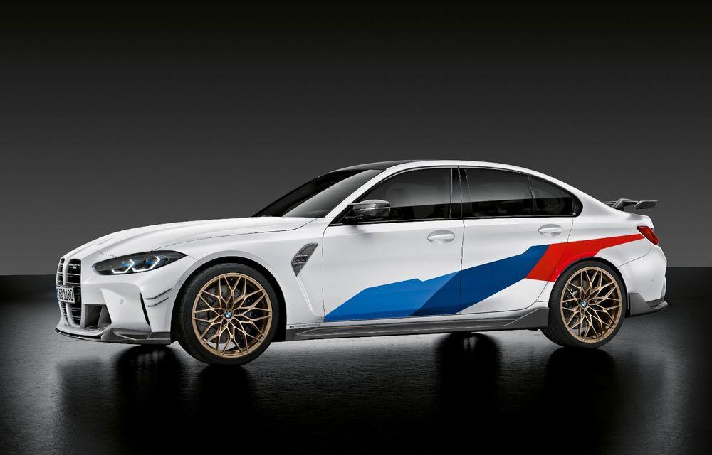 Accesorii M Performance pentru noile BMW M3 și M4 Coupe: elemente de caroserie din fibră de carbon și noutăți pentru interior - Poza 3