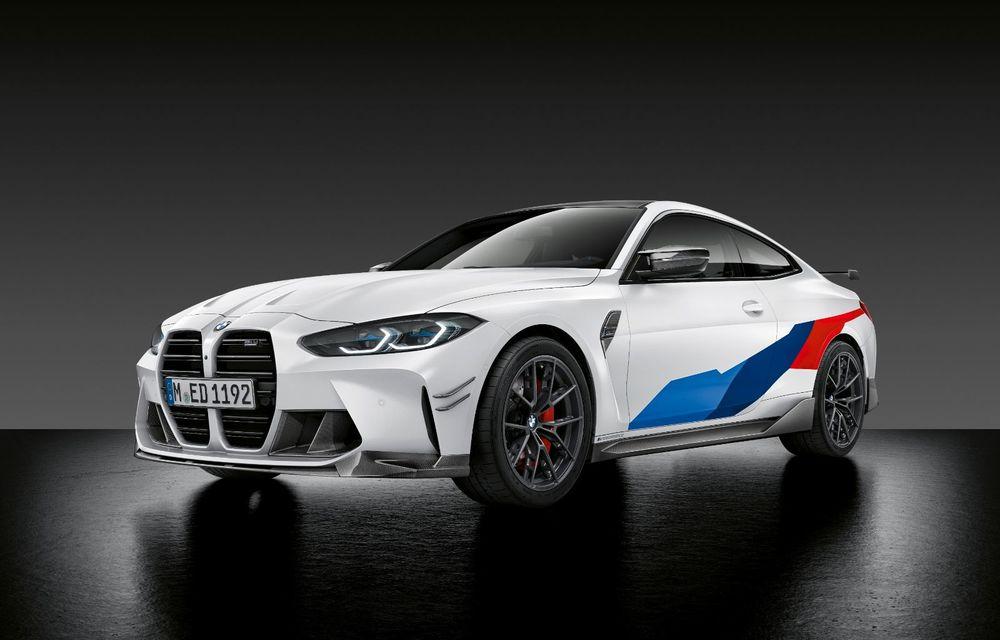 Accesorii M Performance pentru noile BMW M3 și M4 Coupe: elemente de caroserie din fibră de carbon și noutăți pentru interior - Poza 18