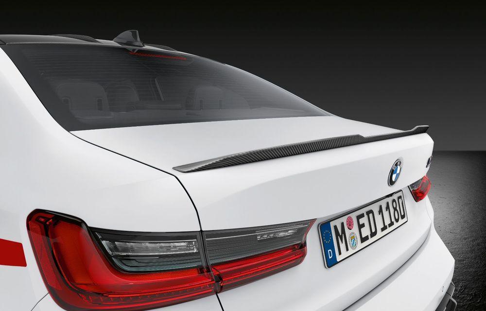 Accesorii M Performance pentru noile BMW M3 și M4 Coupe: elemente de caroserie din fibră de carbon și noutăți pentru interior - Poza 13