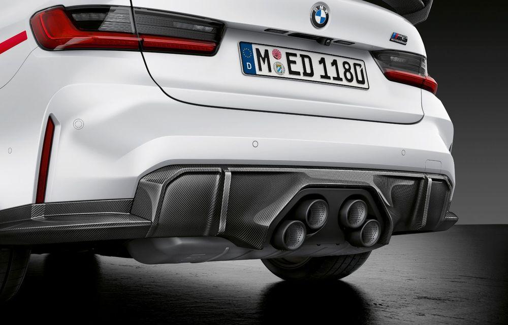 Accesorii M Performance pentru noile BMW M3 și M4 Coupe: elemente de caroserie din fibră de carbon și noutăți pentru interior - Poza 5