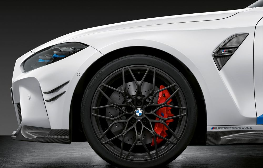 Accesorii M Performance pentru noile BMW M3 și M4 Coupe: elemente de caroserie din fibră de carbon și noutăți pentru interior - Poza 10