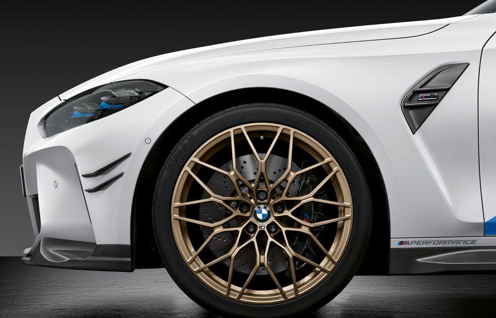 Accesorii M Performance pentru noile BMW M3 și M4 Coupe: elemente de caroserie din fibră de carbon și noutăți pentru interior - Poza 9