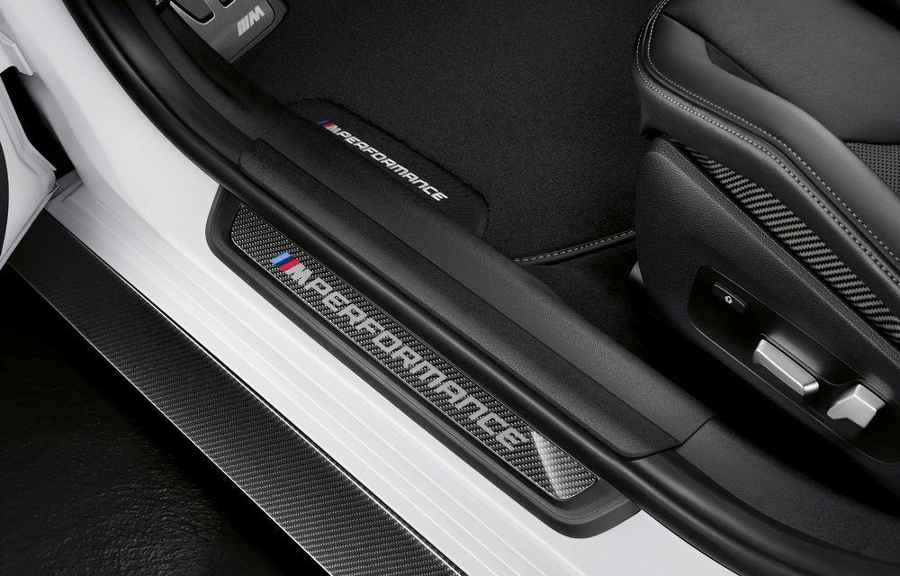 Accesorii M Performance pentru noile BMW M3 și M4 Coupe: elemente de caroserie din fibră de carbon și noutăți pentru interior - Poza 25