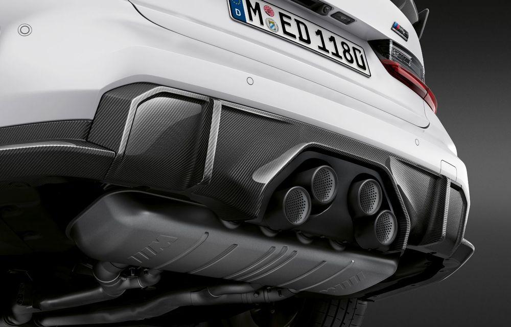 Accesorii M Performance pentru noile BMW M3 și M4 Coupe: elemente de caroserie din fibră de carbon și noutăți pentru interior - Poza 6