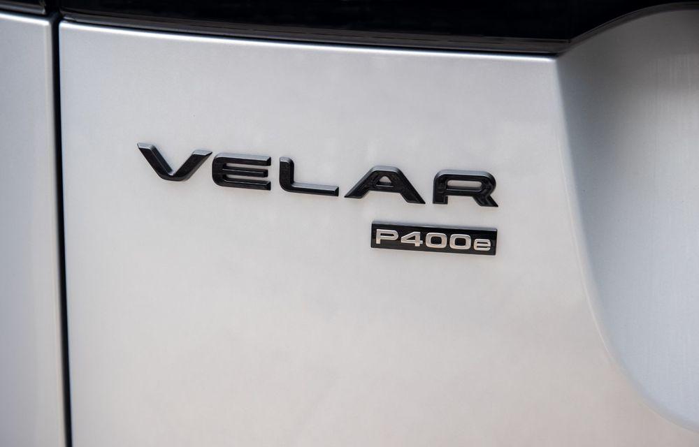 Noutăți pentru Range Rover Velar: versiune plug-in hybrid și motorizări diesel și benzină cu sistem mild-hybrid - Poza 25