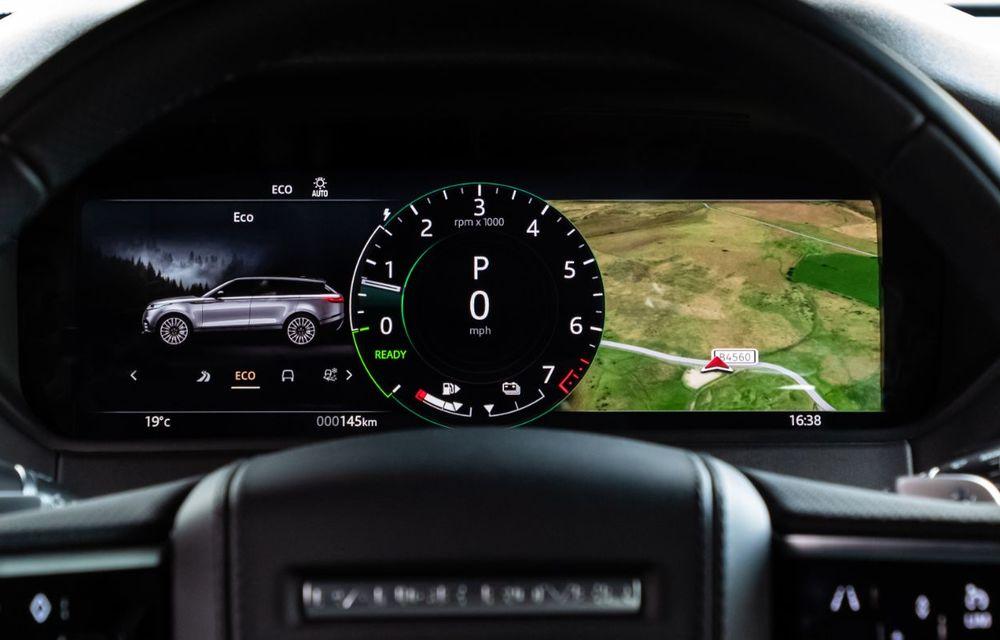 Noutăți pentru Range Rover Velar: versiune plug-in hybrid și motorizări diesel și benzină cu sistem mild-hybrid - Poza 38