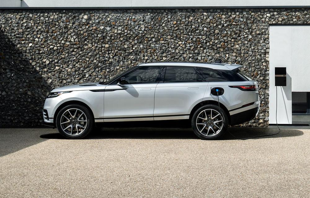 Noutăți pentru Range Rover Velar: versiune plug-in hybrid și motorizări diesel și benzină cu sistem mild-hybrid - Poza 1