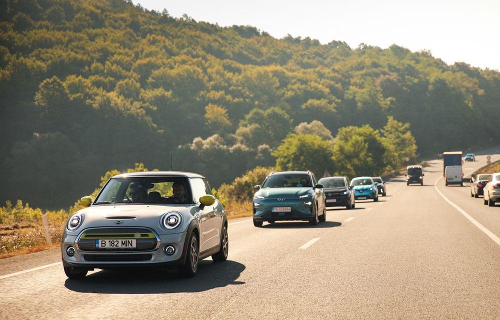 RAPORT FINAL: Mini Cooper SE în #ElectricRomânia 2020: încărcare, consum, autonomie reală - Poza 14