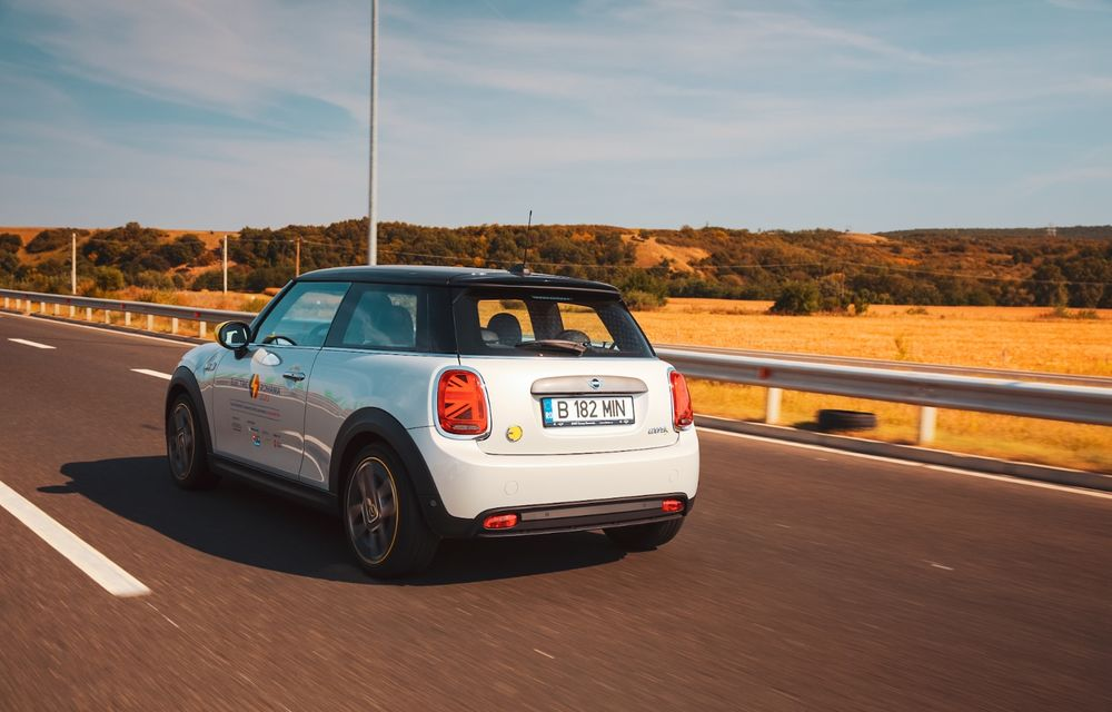 RAPORT FINAL: Mini Cooper SE în #ElectricRomânia 2020: încărcare, consum, autonomie reală - Poza 26