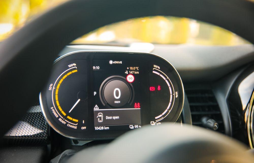 RAPORT FINAL: Mini Cooper SE în #ElectricRomânia 2020: încărcare, consum, autonomie reală - Poza 36