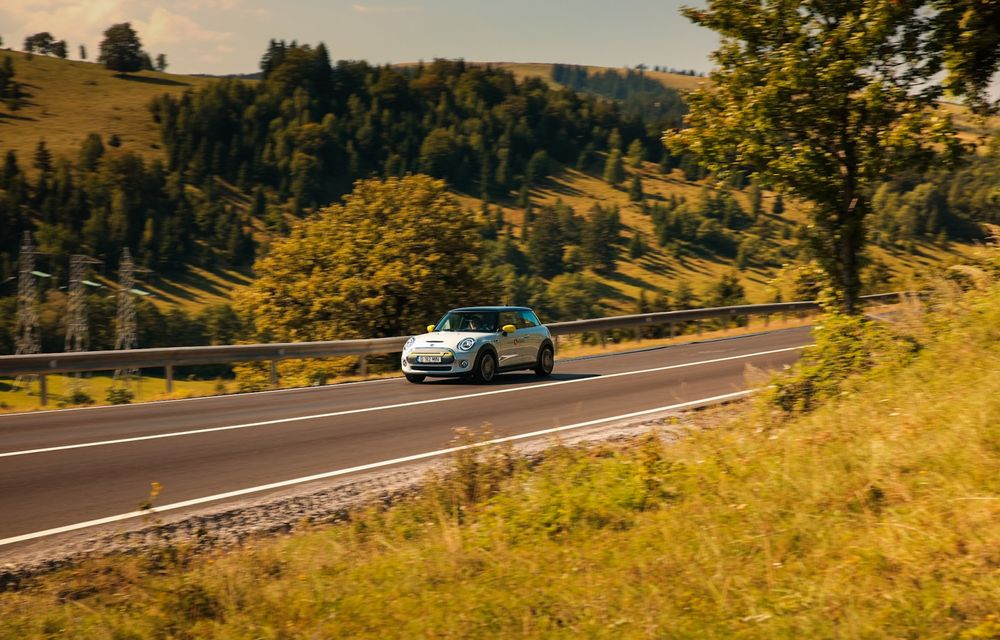 RAPORT FINAL: Mini Cooper SE în #ElectricRomânia 2020: încărcare, consum, autonomie reală - Poza 24