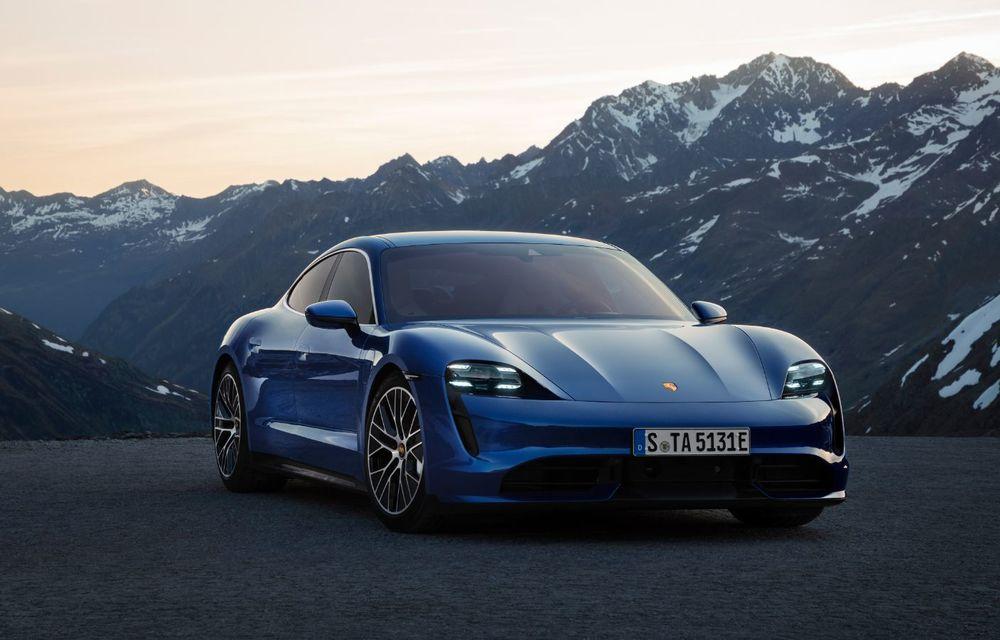 Taycan a devenit cel mai vândut model Porsche în Europa: sportiva electrică a avut aproape 1.200 de clienți în luna august - Poza 1