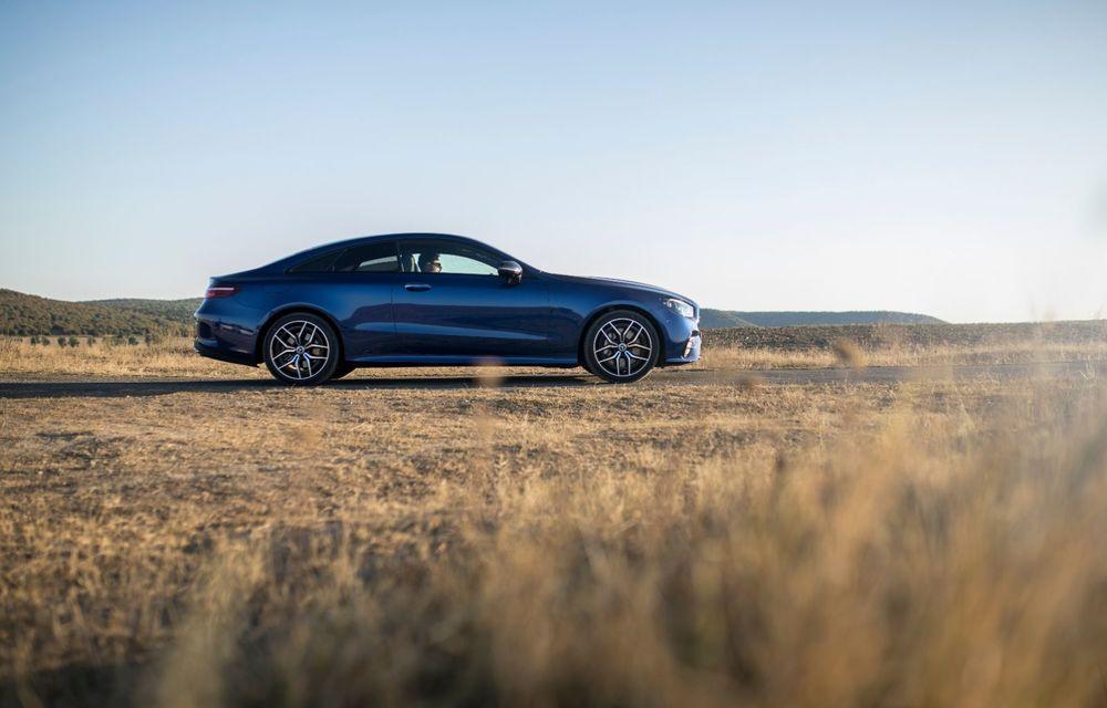 Mercedes-Benz Clasa E facelift a ajuns și în România: prim contact cu versiunile sedan, coupe și All-Terrain - Poza 33