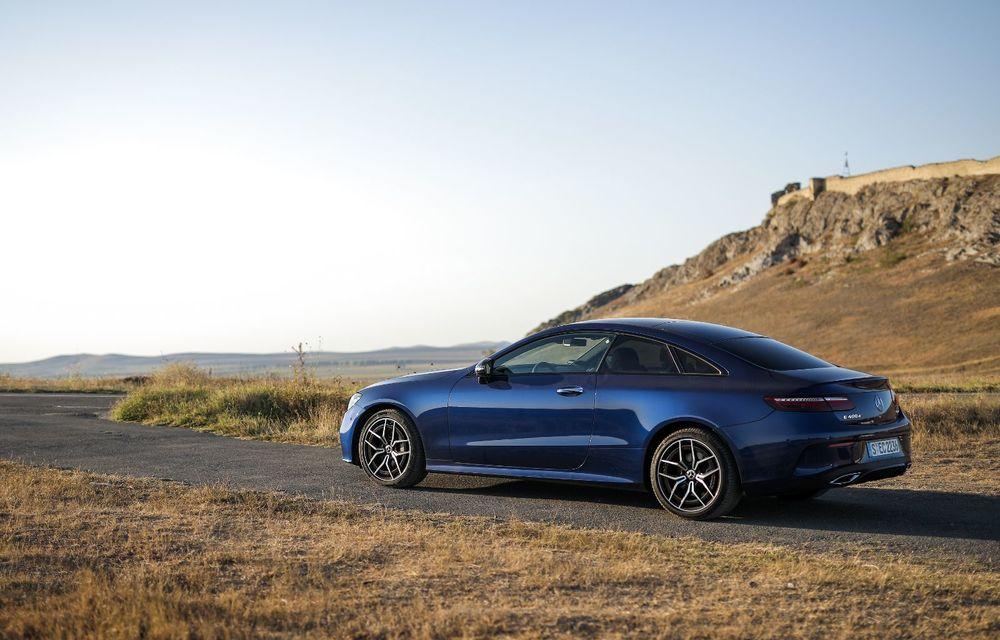 Mercedes-Benz Clasa E facelift a ajuns și în România: prim contact cu versiunile sedan, coupe și All-Terrain - Poza 34