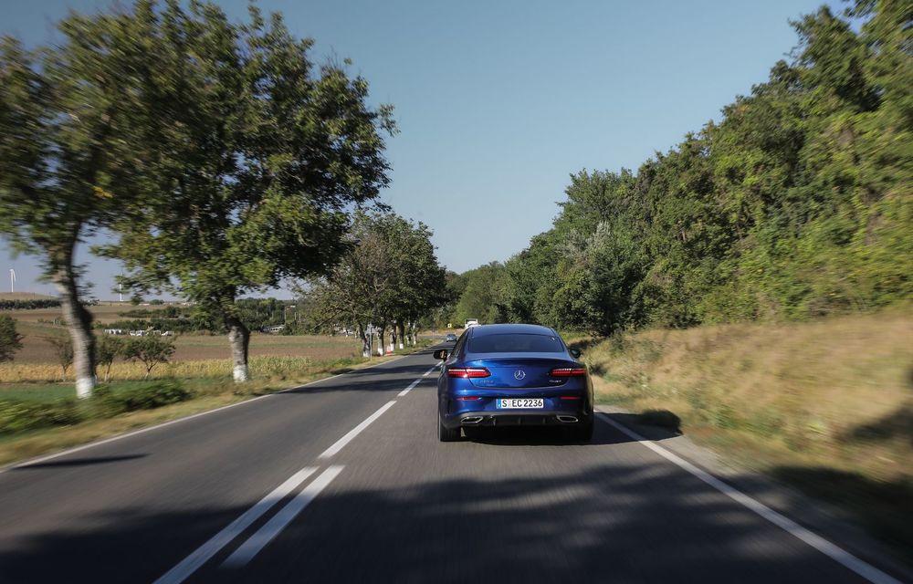 Mercedes-Benz Clasa E facelift a ajuns și în România: prim contact cu versiunile sedan, coupe și All-Terrain - Poza 36
