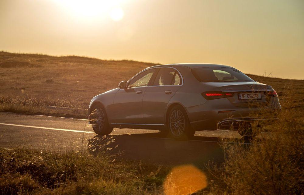 Mercedes-Benz Clasa E facelift a ajuns și în România: prim contact cu versiunile sedan, coupe și All-Terrain - Poza 29