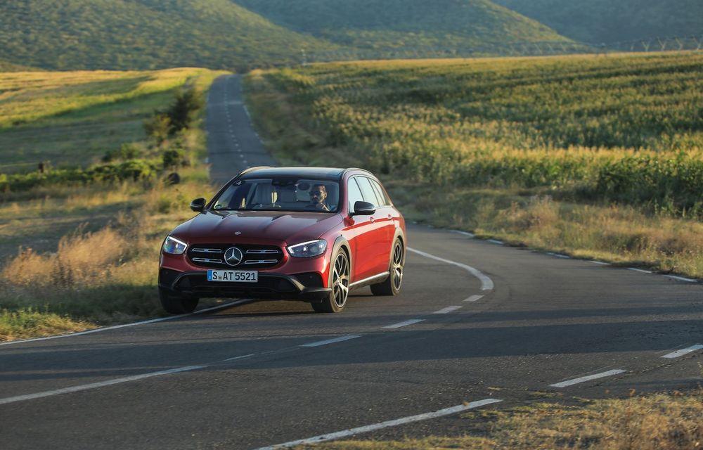 Mercedes-Benz Clasa E facelift a ajuns și în România: prim contact cu versiunile sedan, coupe și All-Terrain - Poza 48