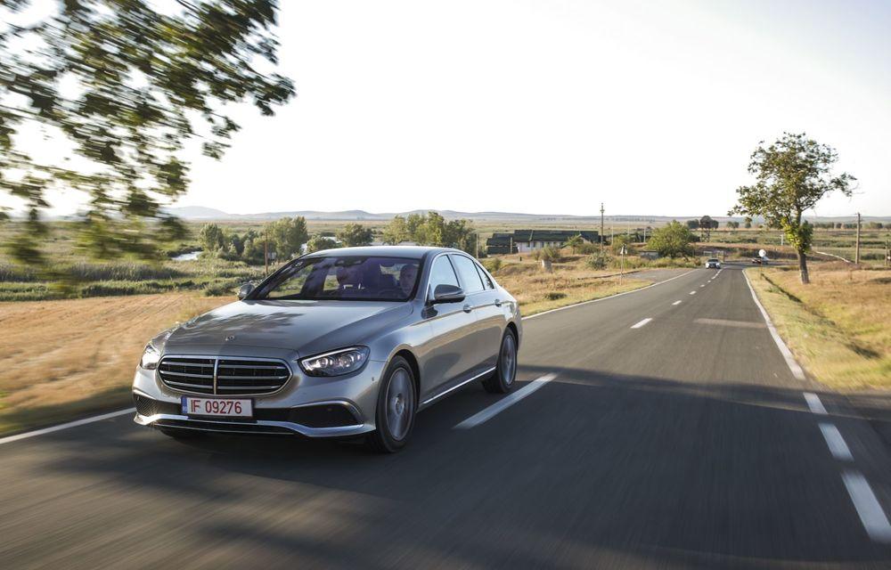 Mercedes-Benz Clasa E facelift a ajuns și în România: prim contact cu versiunile sedan, coupe și All-Terrain - Poza 14