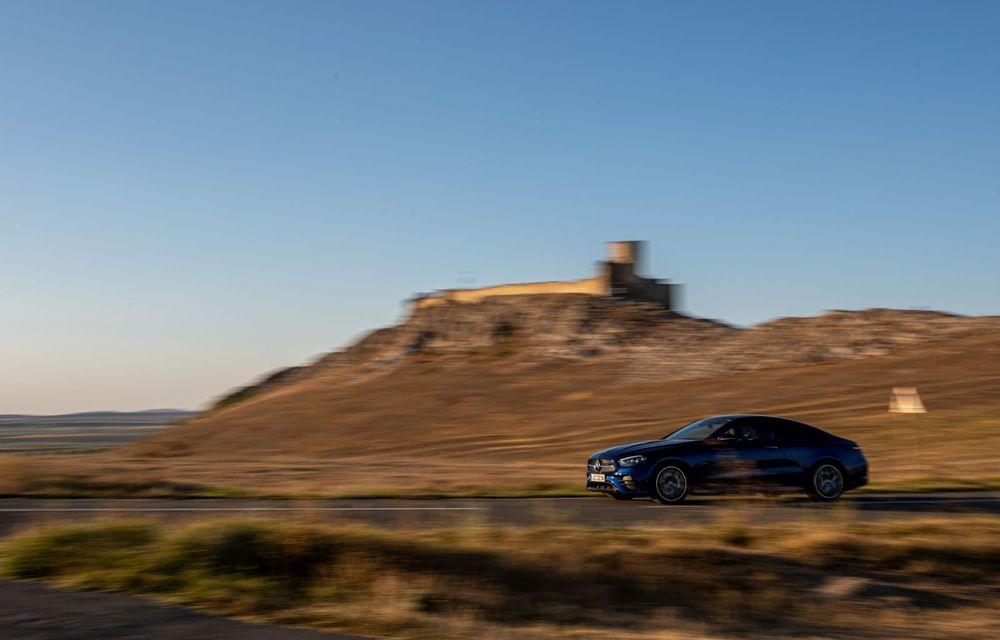 Mercedes-Benz Clasa E facelift a ajuns și în România: prim contact cu versiunile sedan, coupe și All-Terrain - Poza 35
