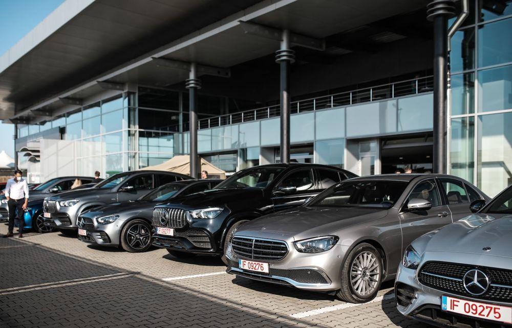 Mercedes-Benz Clasa E facelift a ajuns și în România: prim contact cu versiunile sedan, coupe și All-Terrain - Poza 3