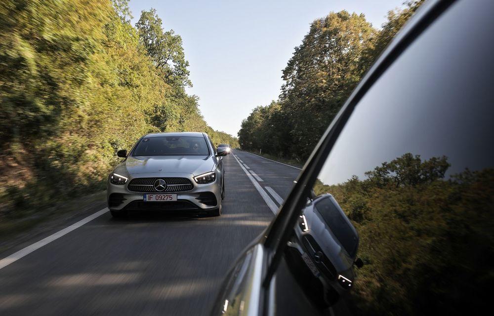 Mercedes-Benz Clasa E facelift a ajuns și în România: prim contact cu versiunile sedan, coupe și All-Terrain - Poza 20