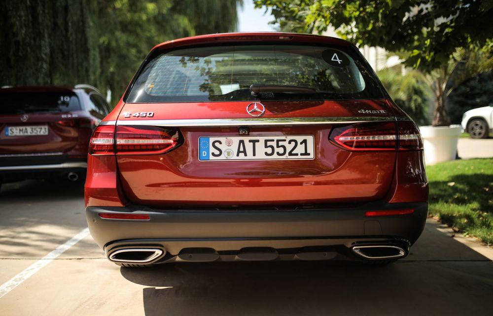 Mercedes-Benz Clasa E facelift a ajuns și în România: prim contact cu versiunile sedan, coupe și All-Terrain - Poza 50