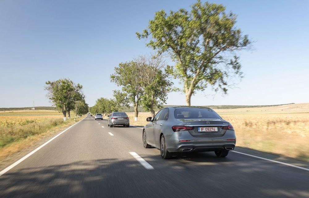 Mercedes-Benz Clasa E facelift a ajuns și în România: prim contact cu versiunile sedan, coupe și All-Terrain - Poza 17