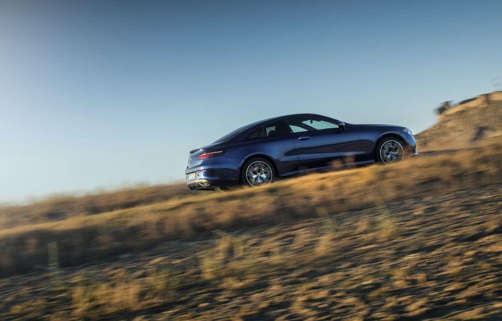 Mercedes-Benz Clasa E facelift a ajuns și în România: prim contact cu versiunile sedan, coupe și All-Terrain - Poza 38