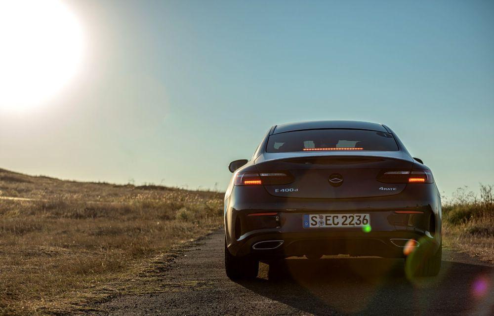 Mercedes-Benz Clasa E facelift a ajuns și în România: prim contact cu versiunile sedan, coupe și All-Terrain - Poza 40