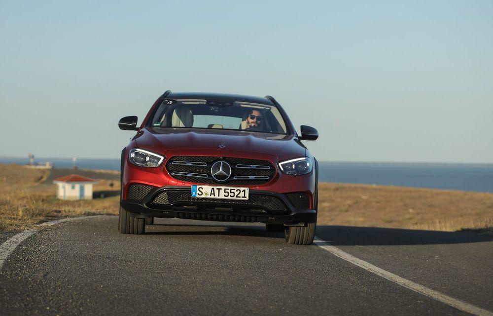 Mercedes-Benz Clasa E facelift a ajuns și în România: prim contact cu versiunile sedan, coupe și All-Terrain - Poza 46