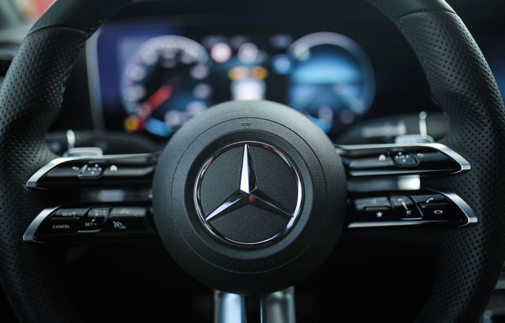 Mercedes-Benz Clasa E facelift a ajuns și în România: prim contact cu versiunile sedan, coupe și All-Terrain - Poza 62