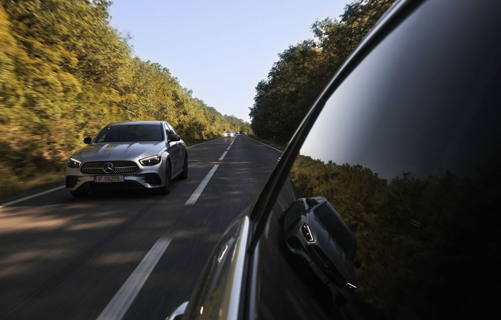 Mercedes-Benz Clasa E facelift a ajuns și în România: prim contact cu versiunile sedan, coupe și All-Terrain - Poza 19
